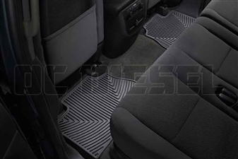 WeatherTech W70 Rear All-Weather Floor Mats for 2007-2014 GM 6.6L Duramax LMM, LML