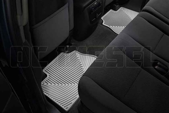 WeatherTech W70GR Rear All-Weather Floor Mats for 2007-2014 GM 6.6L Duramax LMM, LML