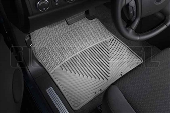 WeatherTech W72GR Front All-Weather Floor Mats for 2007-2014 GM 6.6L Duramax LMM, LML