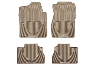 WeatherTech W72TN-W70TN All-Weather Floor Mat Set for 2007-2014 GM 6.6L Duramax LMM, LML