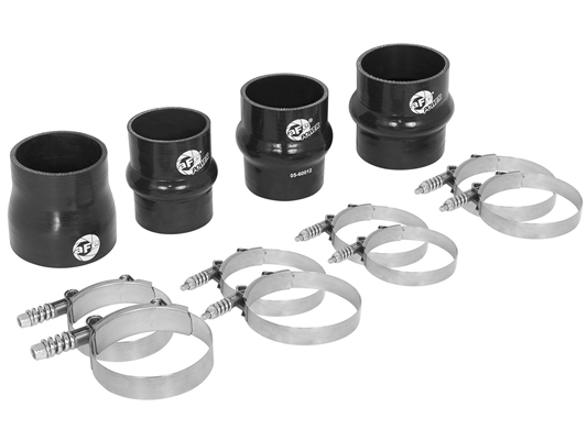 aFe Power 46-20080AA BladeRunner Intercooler Couplings & Clamps Kit for 2010-2012 Dodge 6.7L Cummins