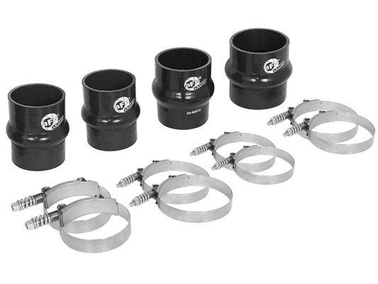 aFe Power 46-20080AS BladeRunner Intercooler Couplings & Clamps Kit for 2010-2012 Dodge 6.7L Cummins