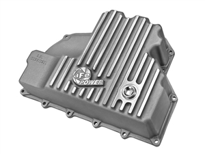aFe Power 46-70280 Engine Oil Pan Machined Fins for 2014-2015 RAM 3.0L EcoDiesel