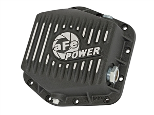 aFe Power 46-70302 Pro Series Rear Differential Cover Machined Fins for 2016 GM 2.8L Duramax LWN