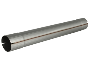 "aFe Power 49-91004 ATLAS 4"" Muffler Delete Pipe 409 Stainless Steel for 4"" Exhaust Systems"