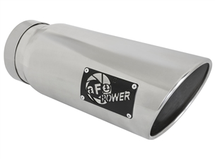 "aFe Power 49T50601-P15 MACH Force-Xp 6"" Exhaust Tip 304 Stainless Steel for 5"" Exhaust Systems"