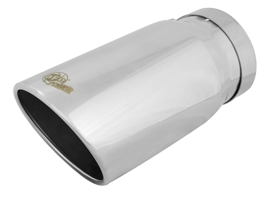 "aFe Power 49T50604-P12 MACH Force-Xp 6"" Exhaust Tip 304 Stainless Steel for 5"" Exhaust Systems"