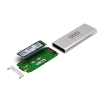 Macbook 2013/2014 to USB3.0 adapter supports PCIE SSD