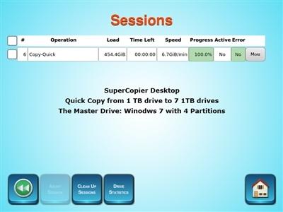 SuperCopier Desktop Pro Gen-3 Standalone Multiple Drives Duplicator unit 8  SAS, 11 SATA ,10 USB3 1