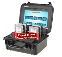 "SuperImager Plus 12"" Rugged Forensic Field Unit - 12"" Touchscreen color LCD display and SAS/SATA-3 and USB3.0 and Thunderbolt 3.0"