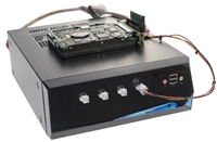 SuperWiper SCSI drive erase unit with USB3.0 ports