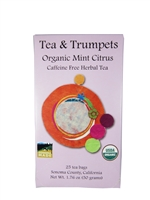 Organic Mint Citrus Tea Bags