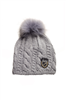 Skea  Kelly Womens Hat with Real Fur PomPom