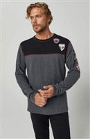 Alp-n-Rock Ski Patch Mens Crew Top