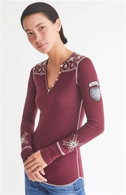 Alp-n-Rock Isla Henley Womens Top
