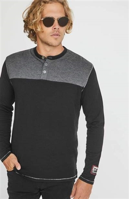 Alp-n-Rock Off Piste Mens Henley Top