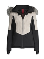 Postcard Crows Fur Womens  Jacket