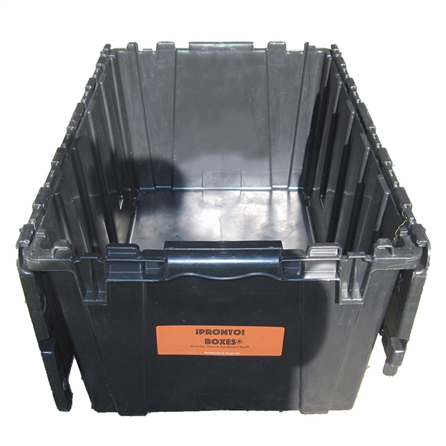 Large Plastic Moving Tote for Eco Friendly Packing