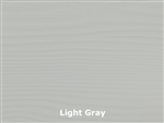 Allura Fiber Cement Cedar Lap Siding, 8-1/4 Prefinished, Light Gray