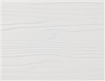 Nichiha Fiber Cement Lap Siding, 8-1/4 Prefinished, White