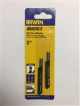"Irwin 3071300 3"" Jig Saw Blade 5/32"" Carbide Grit"