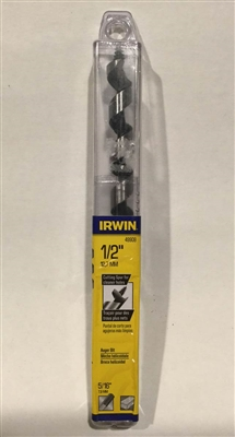 "Irwin 49908 1/2"" Power Drill Auger Bit"