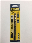 "Irwin 73323 23/64"" Drill Bit, Gold Oxide Jet Point"