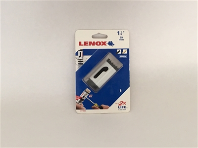 "Lenox 1771959 1-1/8"" Bi-Metal Hole Saw, 1L, 4L, 5L, White"