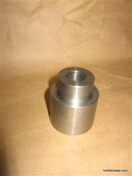 Shaft Coupler Reducer, 5/8 to 1 Inch - Flowcoat Machine