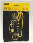 Stanley Hardware 315675 Gate Thumb Latch - Black Coated