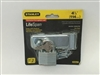 "Stanley Hardware 399725 4-1/2"" Zinc Plated Hasp with Padlock"