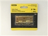 "Stanley Hardware 802040 3"" Satin Brass Utility Hinges 2-ct"