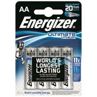 Lithium Batteries AA - Pack of 4