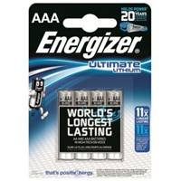Lithium Batteries AAA - Pack of 4