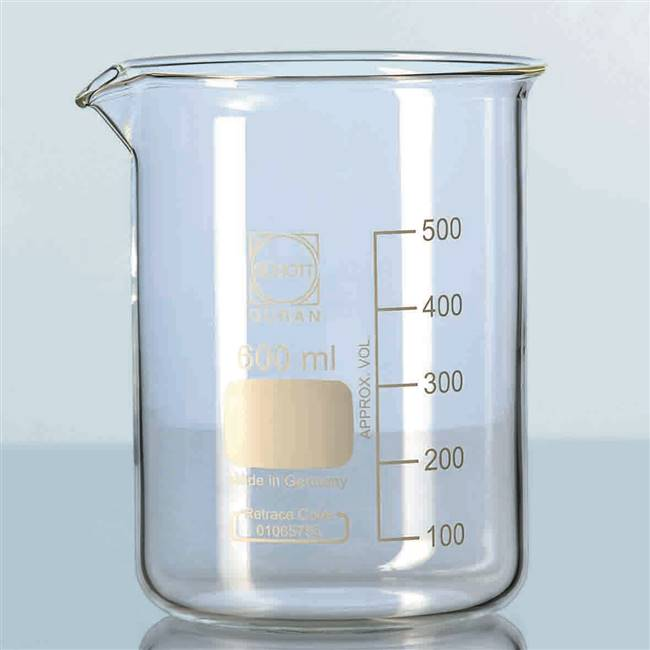 Duran Squat Beaker - 250ml