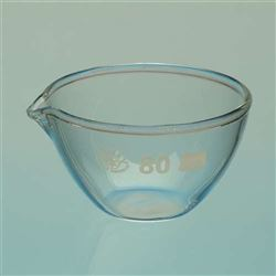 Glass Evaporating Basin - 90ml