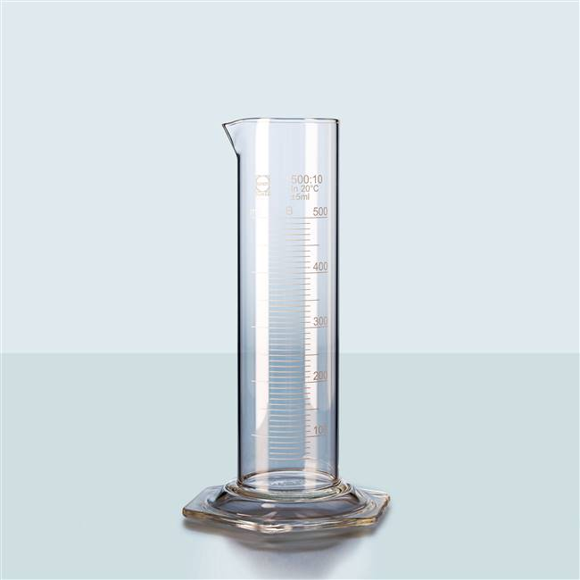 Squat Glass Measuring Cylinders Duran 10ml