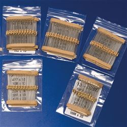 10 Ohm CR25 0.25W Resistor Pack
