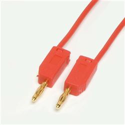2mm Stackable Leads - 100mm Red