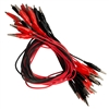 Crocodile Clip Lead Pack - Red & Black