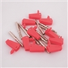 4mm Basic Stackable Plug - Red