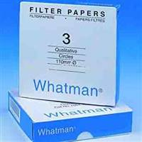 Whatman Grade No.3 Filter Paper - 110mm