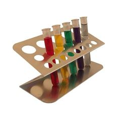 Test Tube Stand Z-Shape - Aluminium