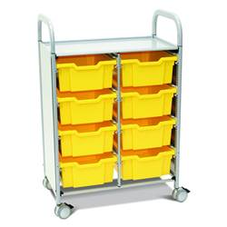 Callero Plus Science Storage Trolleys