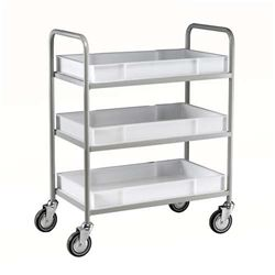 3 Tier Trolley, Removable Tray