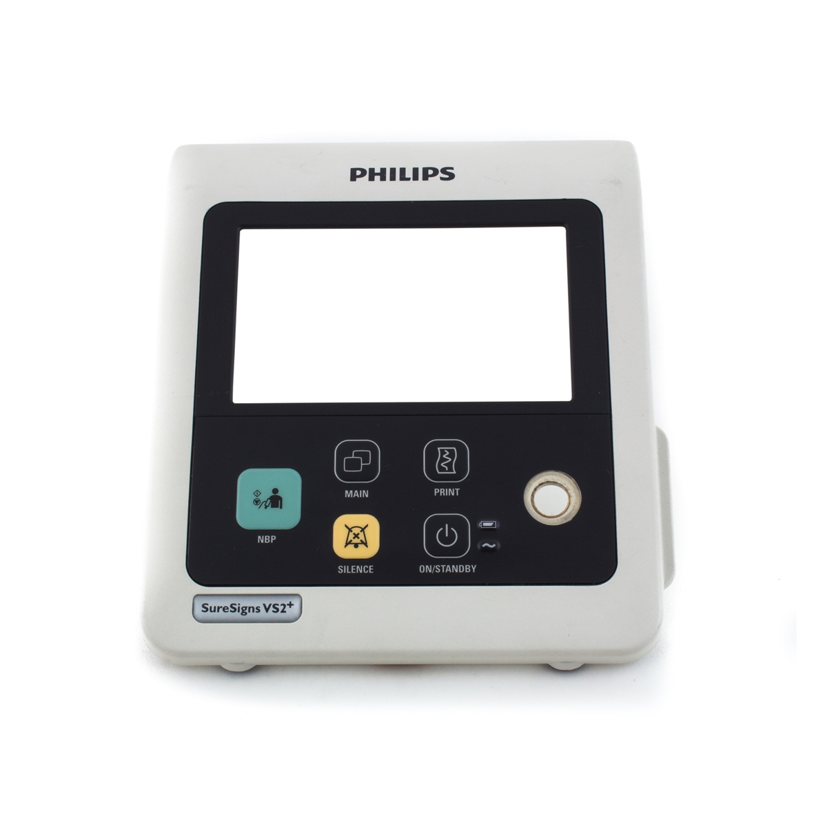 Philips SureSigns VS2+ Patient Monitor Front Screen Bezel Buttons & Overlay