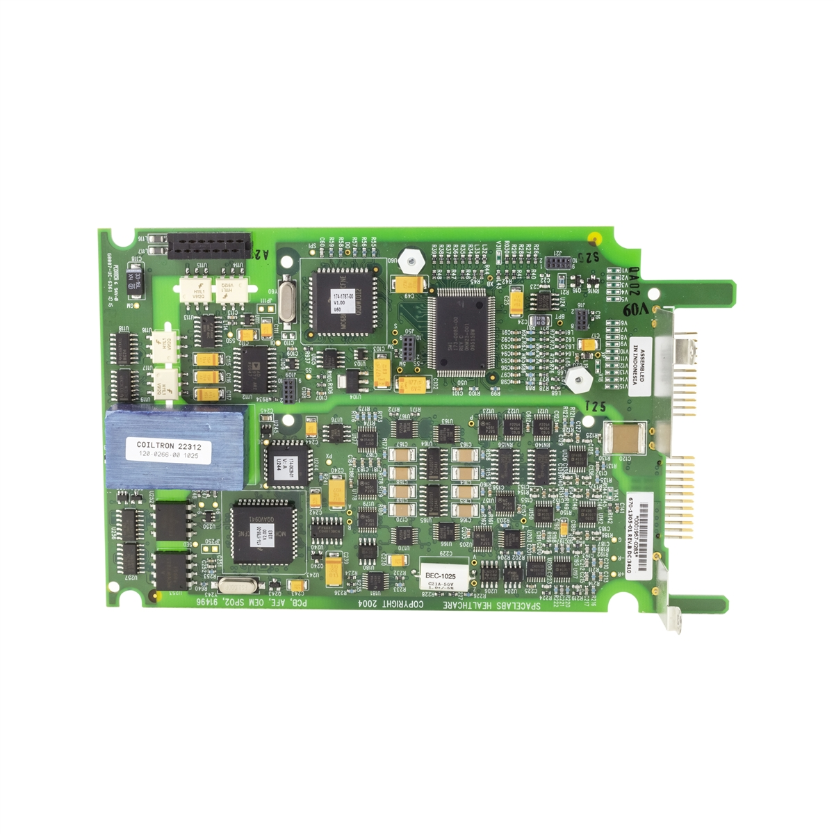 Pcba670 1305 01afeoem Spo291496 Computer Technology Circuit Board With Multiple Electronic Components Refurbished By Pacmed