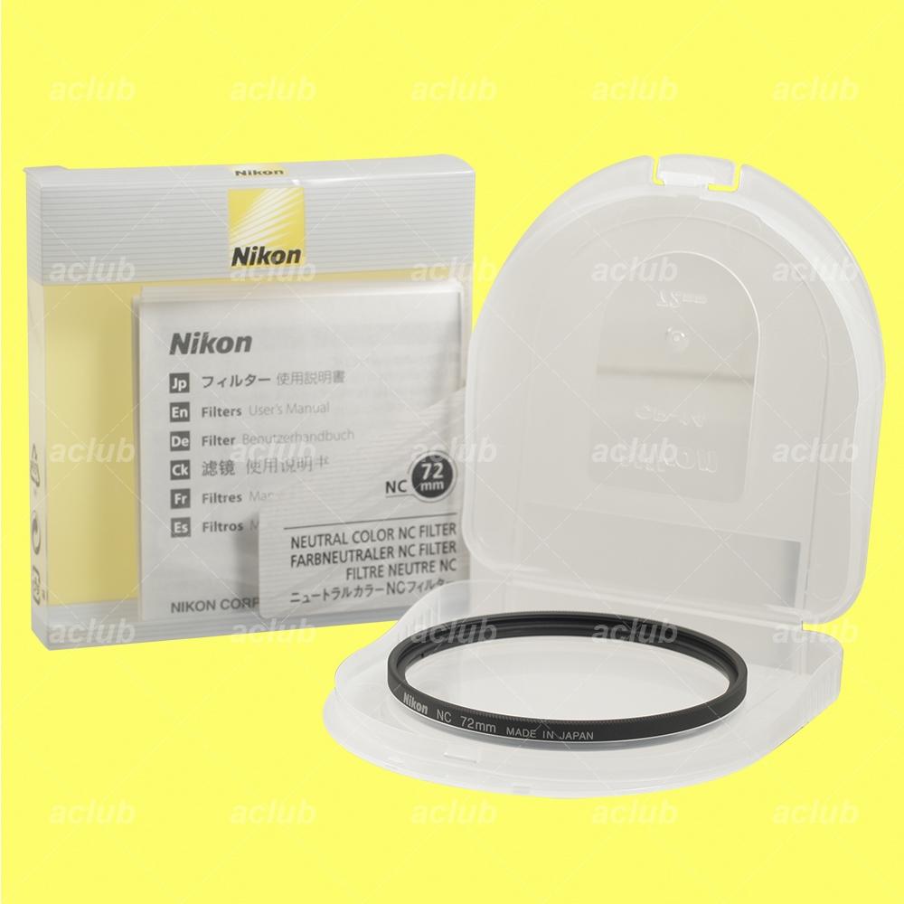 Nikon Filtro 72Mm Nc