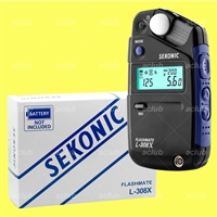 Sekonic L-308X Flashmate Digital Flash Light Meter