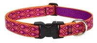 "LupinePet Originals 1"" Alpen Glow 16-28"" Adjustable Collar for Medium and Larger Dogs"